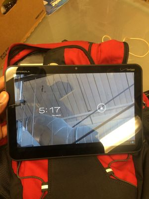 Motorola tablet from Verizon for Sale in Baltimore, MD