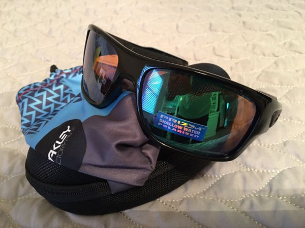 797bdf6a95568 Oakley Turbine prizm shallow water polarized sunglasses for Sale in ...