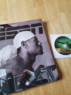 Photo Rookie Lebron James NBA basketball magazine