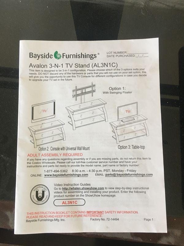 Avon 3 In 1 Tv Stand For Sale In Las Vegas Nv Offerup