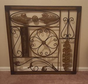 Decorative Metal Wall Hanging for Sale in Aurora, CO