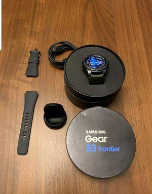 samsung Gear s3 frontier for Sale in Gaithersburg, MD