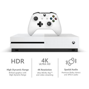 Xbox One S 1TB Starter Bundle with 4K Ultra Blu-ray - White for Sale in St. Louis, MO
