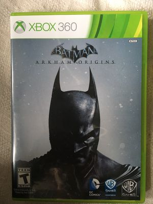 Batman Arkham Origins Xbox 360 2 disc Game for Sale in Chicago, IL