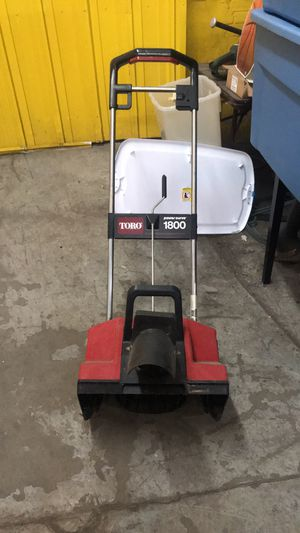 Toro 1800 power curve electric snowblower for Sale in St. Louis, MO