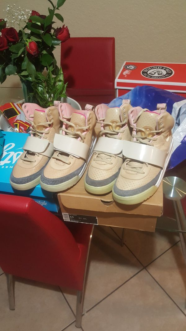 a22d87063ec5ad Nike Air Yeezy 1 tan size 12 size 11 for Sale in Oakland Park