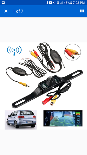 NEW Car Rearview Camera; Wireless; Night Vision; 170° View; Easy Install (168-LM029) for Sale in TN, US