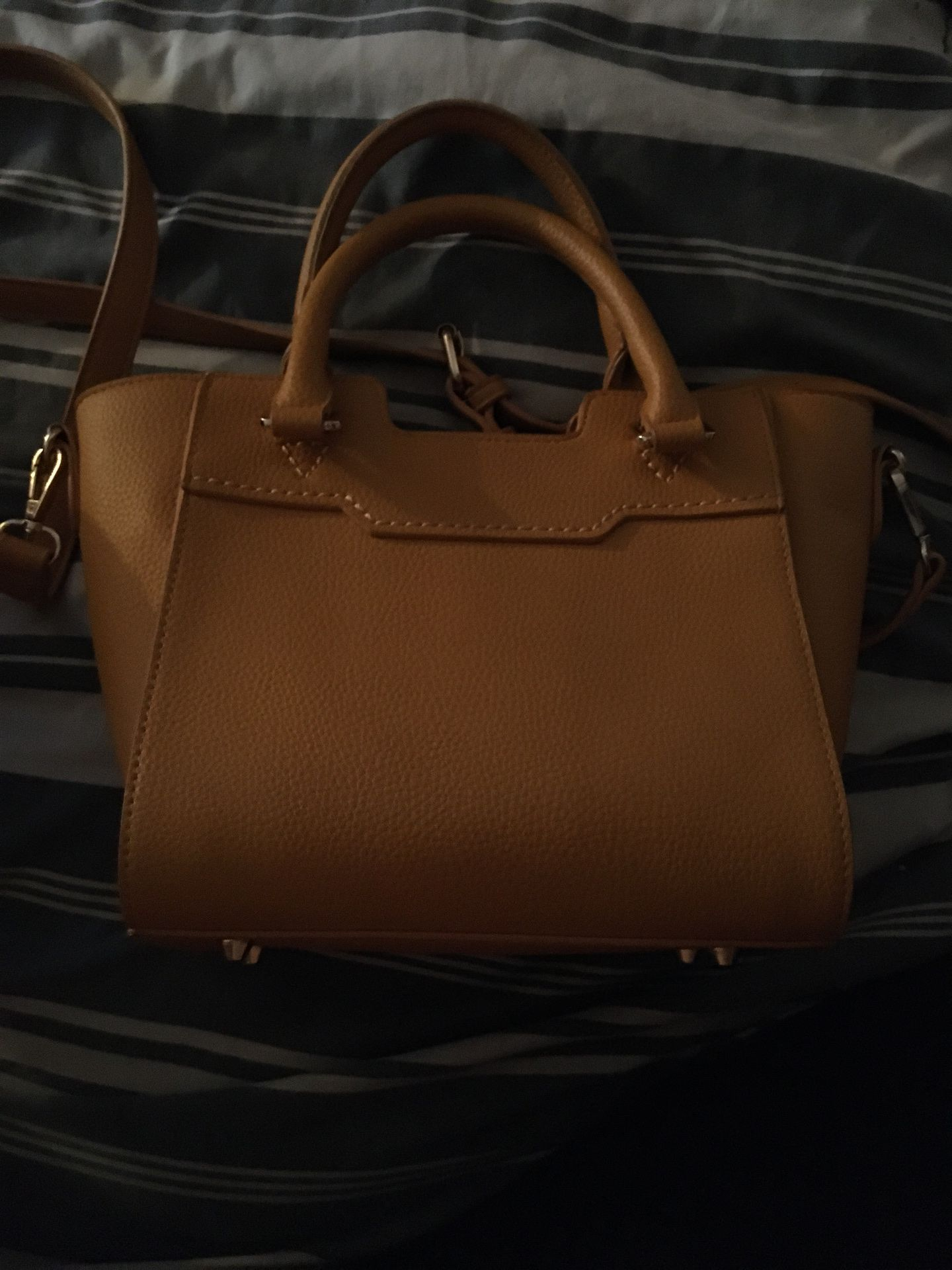 Mustard color purse