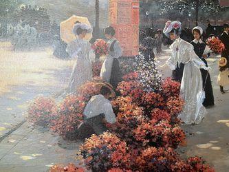 Christa Kiefer oil painting on canvas Thumbnail