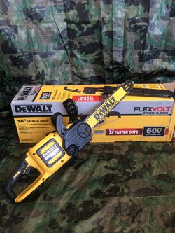 "Dewalt Chainsaw 16"" Flex Volt Brushless ""tool Only"" Thumbnail"
