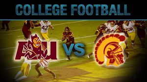 Usc vs Arizona St 2 tix on the 50 yard line for Sale in Los Angeles, CA