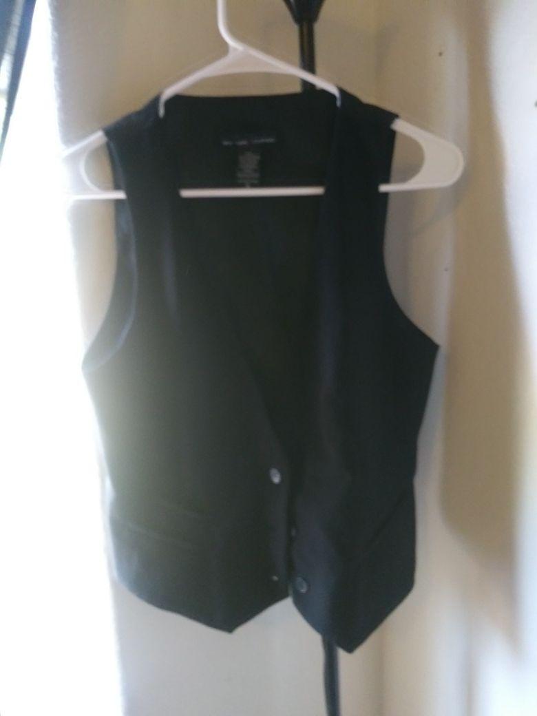 Black med vest
