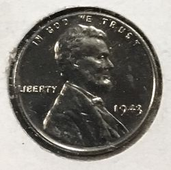 1943 P Steel in Brilliant Uncirculated Condition. Thumbnail