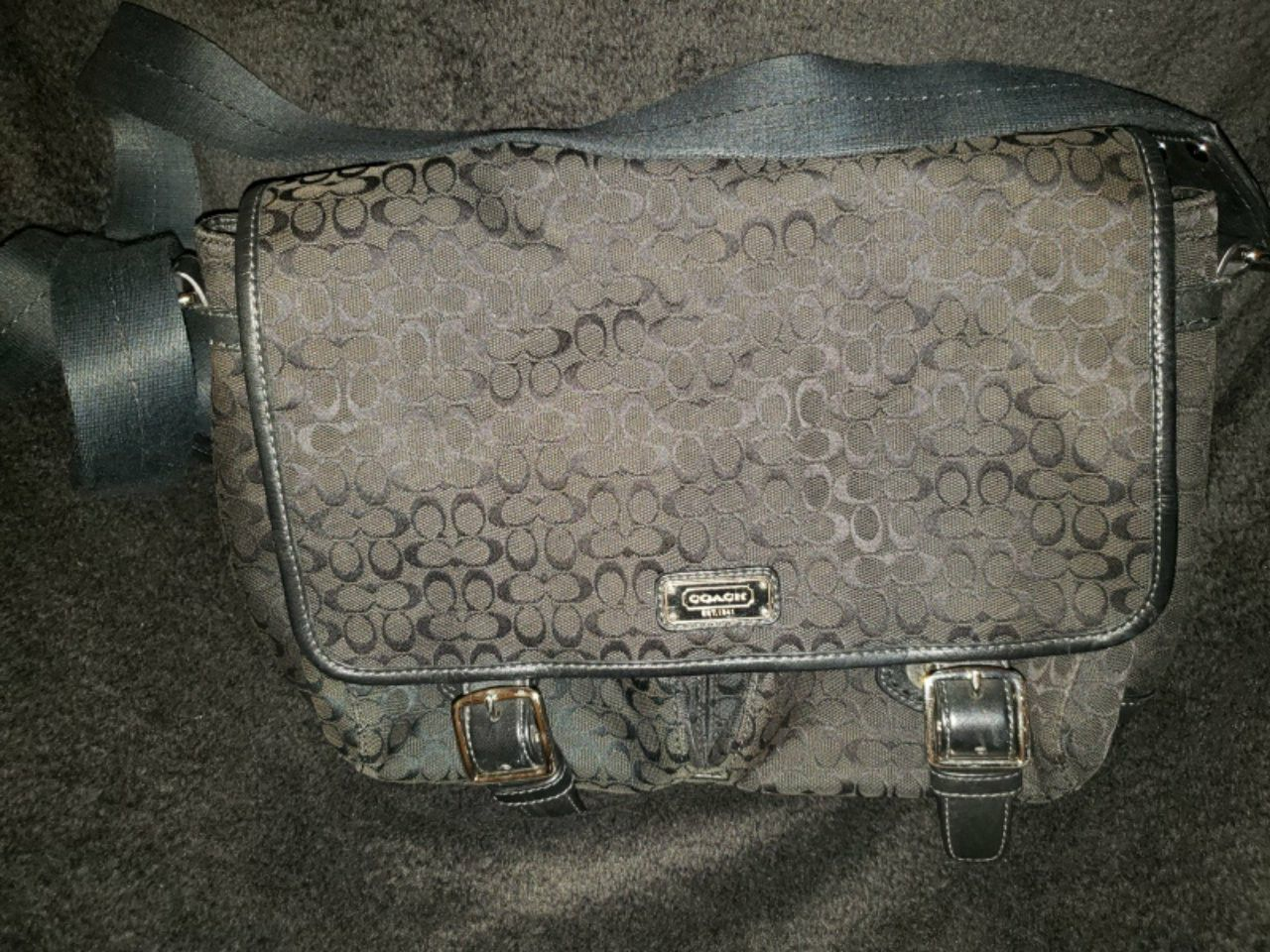 Coach mens bags and shoes