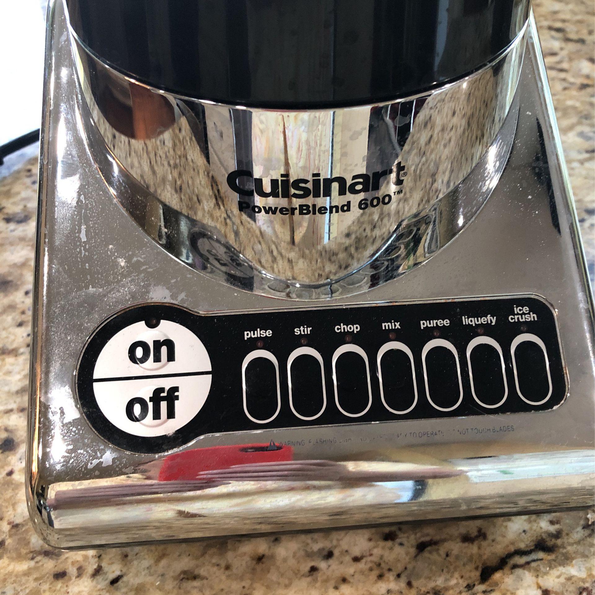 Cuisinart Power Blend 600 Used