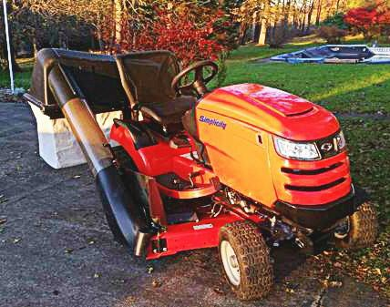 BRAND NEW- 2017 Simplicity Prestige, 27 hp, 50-in  Cut w/ 3-Leaf Bagger &  Snow Plow Attachment for Sale in Summerville, SC - OfferUp