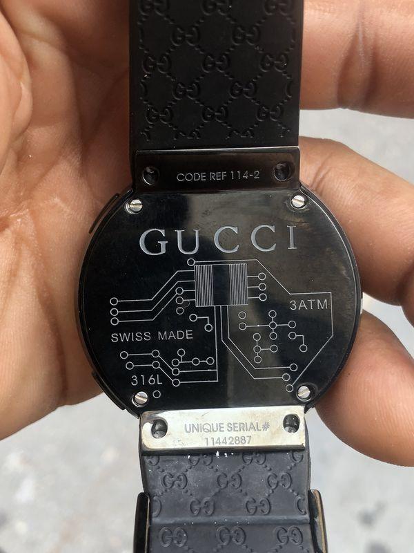 87b92d0e826 Gucci Black LCD Digital Watch for Sale in Bronx
