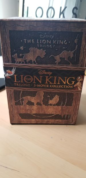 Collector's Edition, The Lion King Boxed Trilogy for Sale in Silver Spring, MD