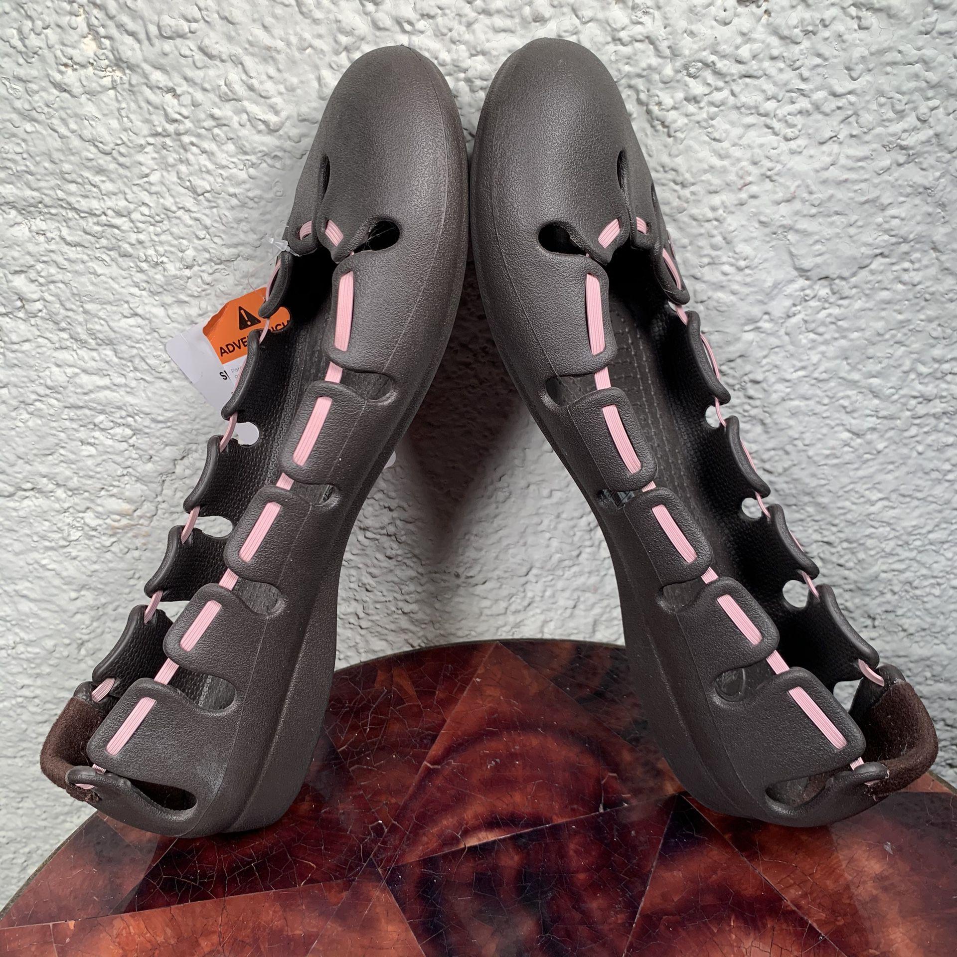 NEW Crocs Springi Ballet Flat Slippers Womens 10