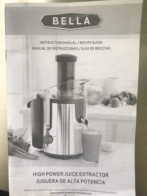 New Juice Extractor Bella For Sale In Los Angeles Ca Offerup