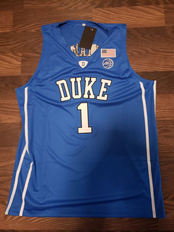 promo code a86d1 6bc98 Zion Williamson Jersey Duke Blue Devils Jersey Sizes XL and Large for Sale  in Greenville, SC - OfferUp