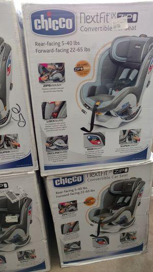 Brand New Chicco Nextfit IX Zip Convertible Car Seat Unopened Box BlueSteel 225 Firm