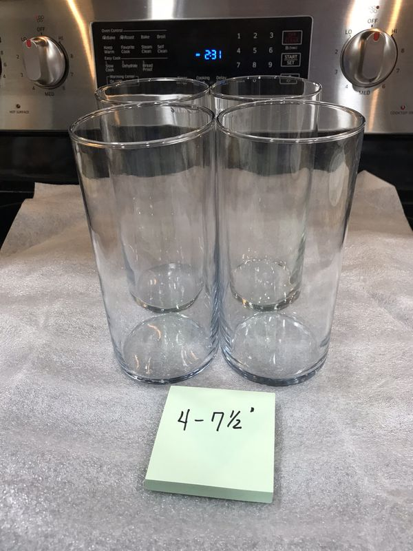 Assorted Glass Vases Glassware Wedding Party Decor For Sale In