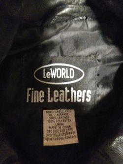 Leather Riding Jacket  Thumbnail