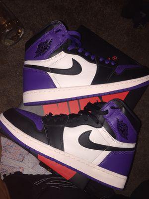 Purple Court Air Jordan 1's for Sale in Sanford, FL