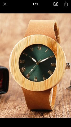 Stunning Wood crafted watch for Sale in Washington, DC