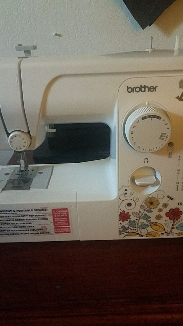 Sewing Machine Brother JX40 For Sale In El Cajon CA OfferUp Impressive How To Setup A Brother Jx2517 Sewing Machine