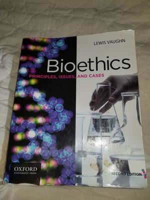 Bioethics Principles, Issues, and Cases 2nd ed. Lewis Vaughn for Sale in Portland, OR