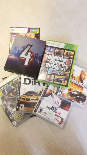 Lot of games. Good condition for Sale in Herculaneum, MO