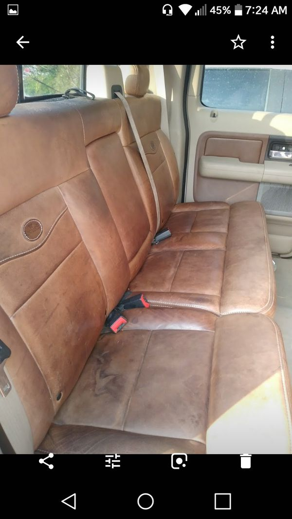 King Ranch Saddle Leather Seats 04 08 For Sale In Rockwall Tx Offerup