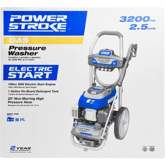 bca9eaed4f5 Brand new 3200 gas psi power stroke pressure washer for Sale in Richmond