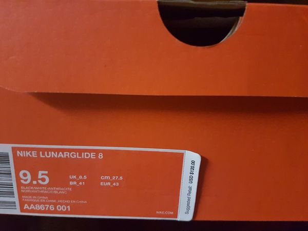 7902dd1211346 Brand New Nike Lunarglide 8 (Clothing   Shoes) in Vancouver