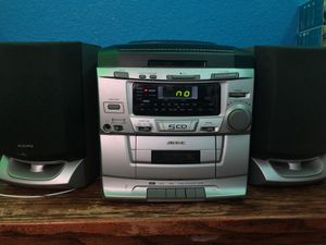 Audiovox 5 Cd Home Stereo System For In Sacramento Ca