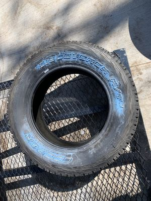 Photo Single cooper discoverer a/t3 tire 265 60 18 never used