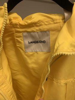 Lands End rain coat Thumbnail