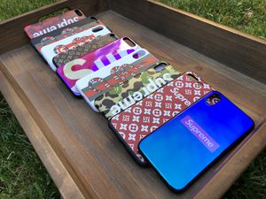 DESIGNER IPHONE CASES & ACCESSORIES - GUCCI LV SUPREME OFFWHITE BAPE - FREE SHIPPING - 7, 8+, X ALL MODELS for Sale in Herndon, VA