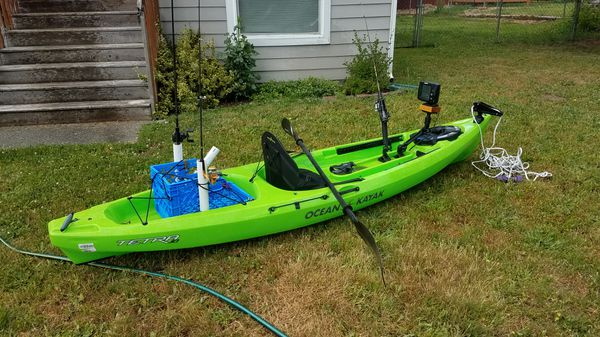 Ocean kayak tetra 10 for Sale in Bonney Lake, WA - OfferUp