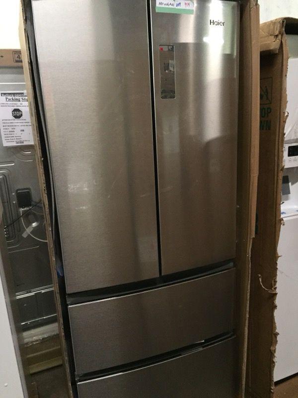 Haier 15 Cu Ft 4 Door Counter Depth French Door Refrigerator For
