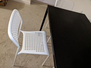 Ikea table and chair in very good condition for Sale in Bethesda, MD