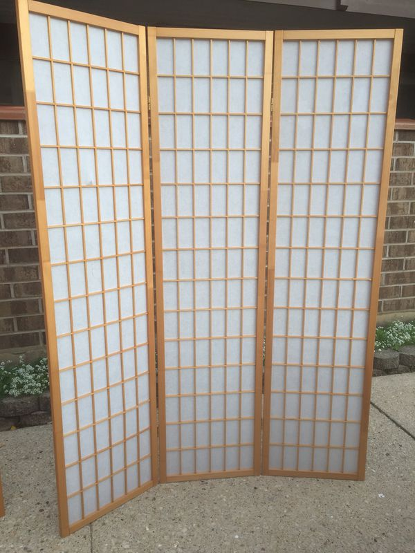 3 PANEL ROOM DIVIDER for Sale in Schaumburg IL OfferUp