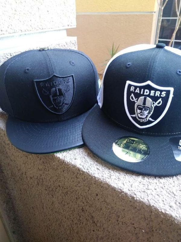 Oakland Raiders New Era 59Fifty Fitted Hats for Sale in Chula Vista ... 2e0b00a4e0c5