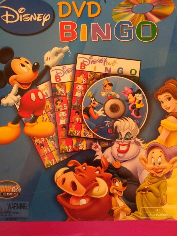 Disney Bingo card with dvd for Sale in El Paso, TX - OfferUp