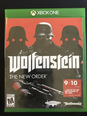 Wolfenstein The New Order Xbox One for Sale in San Diego, CA