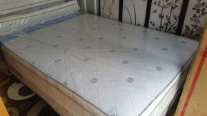 New Full Size Pillowtop Mattress + Box Spring for Sale in Chevy Chase, MD