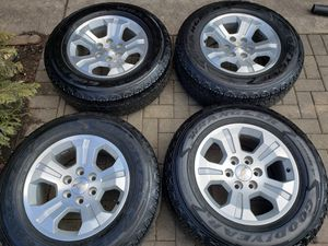 Photo Chevy wheels and tires