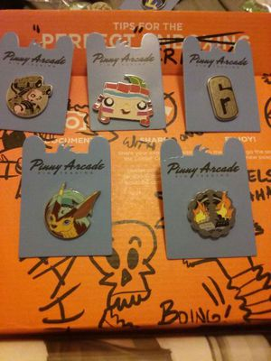 pinny arcade pins from pax prime west past for sale in seattle wa